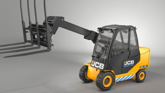 Unique JCB Teletruk goes electric to reach new markets