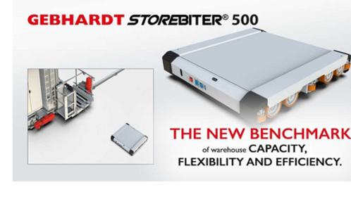 GEBHARDT Launches StoreBiter 500® For Maximising Warehouse Storage