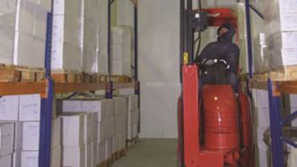 Lithium-ion powered Flexis deliver cold store efficiency