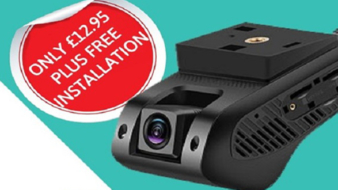 Fleetloc8 offers an all-in-one dashcam and tracking offer for only £12.95 per month