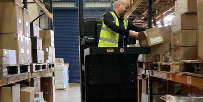 Narrow Aisle's new ride-on order picker is a safe choice for e-commerce fulfilment centres
