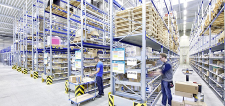 Big benefits from small parts picking in pallet racking