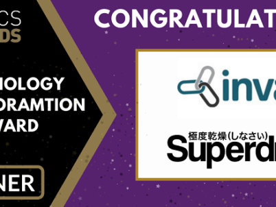 Superdry and Invar Systems with Hikrobot win Technology Transformation Award