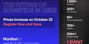 Manifest: The Future of Logistics Releases 2022 Agenda