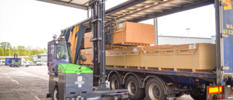 James Latham and Combilift – 20 years of partnership