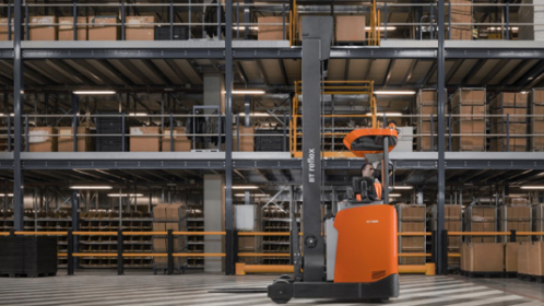 25 per cent of all Toyota electric-powered forklifts now feature Lithium-ion batteries