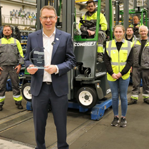 Combilift Wins Energia Family Business of the Year Award 2021